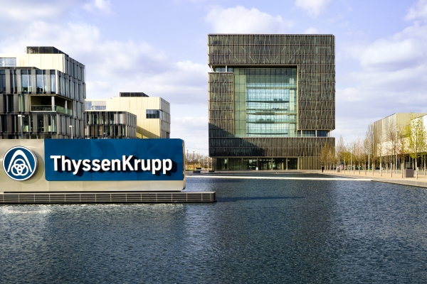 Thyssen Headquater in Essen by Fotografie Düsseldorf