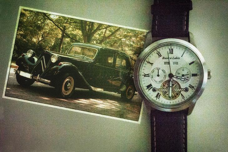 Cronograph im Retrolook fotografiert by Fotografie Düsseldorf